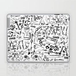 Hardware Black Laptop & iPad Skin
