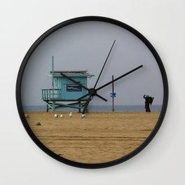 Beach Life Guard Stand Wall Clock