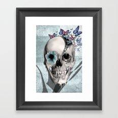 Open minded Framed Art Print