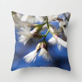 Salt Bush Throw Pillow