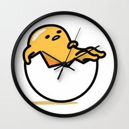Lazy Egg Wall Clock