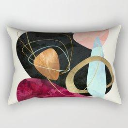 Abstract Pebbles II Rectangular Pillow