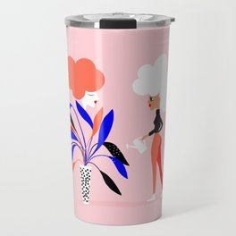 Women's plant - Supporting each other Travel Mug