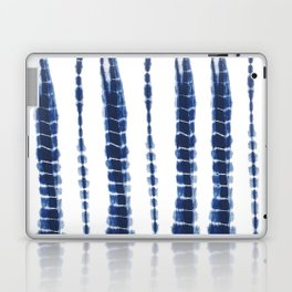 Indigo Blue Tie Dye Delight Laptop & iPad Skin