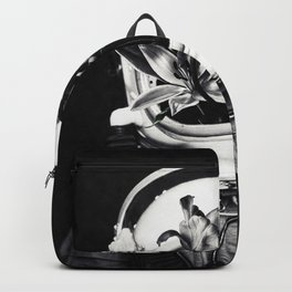 Astronauts and flowers Backpack
