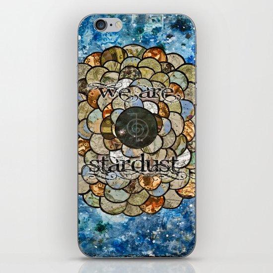 Stardust II iPhone Skin