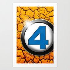 Fantastic Four _ The Thing Art Print