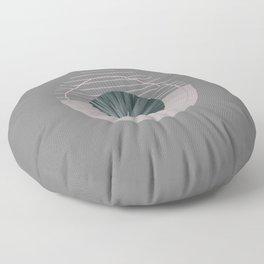 Nature Meets Geometry Circles II Floor Pillow