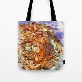 Italy, Cinque Terre Tote Bag