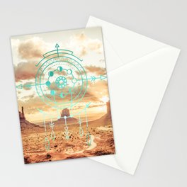 Mandala Desert Dawn Stationery Cards