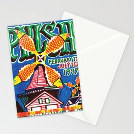 phish amsterdam 1997 2021 Stationery Cards