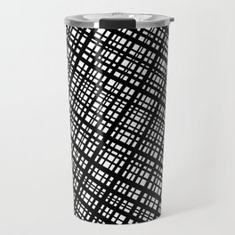 The Bauhaus Grid, diagonal pattern Travel Mug