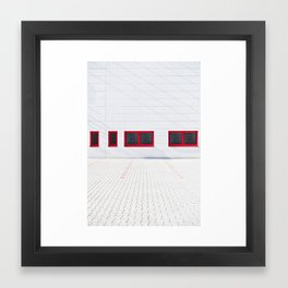 Patio 1 Framed Art Print