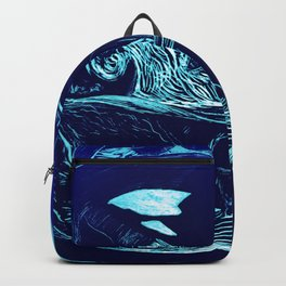 Harmony within the Orca Yin&Yang Backpack
