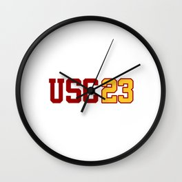 USC Class of 2023 Wall Clock