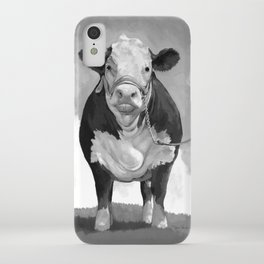 Welcome to the Pasture iPhone Case