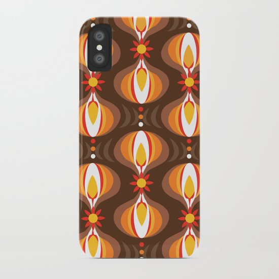 Oohladrop Brown iPhone Case