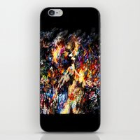 ghost in the shell iPhone & iPod Skins featuring Ghost in the Shell by ururuty