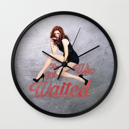 The Girl Who Waited. Wall Clock
