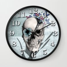 Open minded Wall Clock