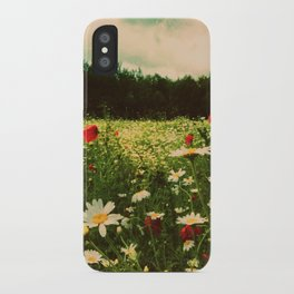 Poppies in Pilling iPhone Case
