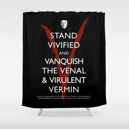People Shouldn't Be Afraid Shower Curtain
