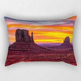 Desert Hearts Rectangular Pillow