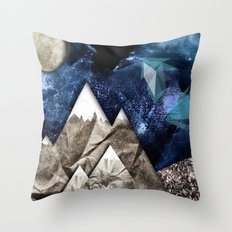 Paper dreams Throw Pillow