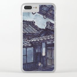 Pearls of Kyoto #2 Clear iPhone Case