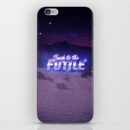 Back to the Futile iPhone Skin