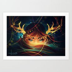 Silence of the Brave Art Print