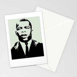 Congressman John Lewis  Never, ever be afraid  Stationery Cards