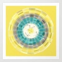 geo Art Prints featuring Geo by H-L-B