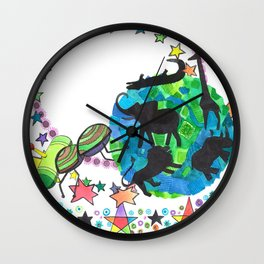 Earth Beetle Wall Clock