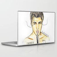 justin timberlake Laptop & iPad Skins featuring JUSTIN by CARLOS CASANOVA