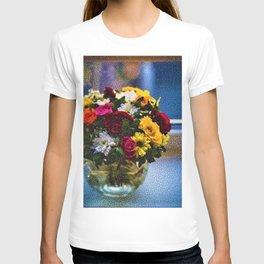 Flowers and Vase Portrait #2 - Jeanpaul Ferro T-shirt