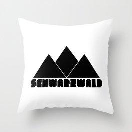 SCHWARZWALD Throw Pillow