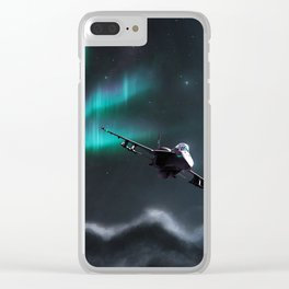 Night Ops Clear iPhone Case