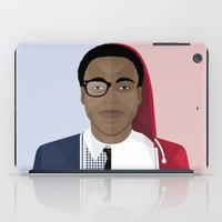 childish gambino iPad Cases featuring Donald Glover x Childish Gambino by Mathieu Duparcq