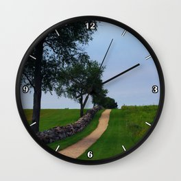 Pathway to the sky Wall Clock