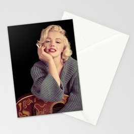 MARYLIN MONROE POSTER Stationery Cards