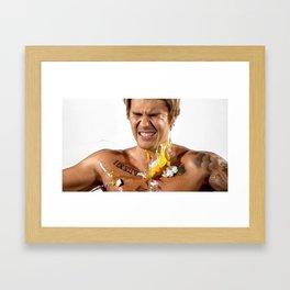 Justin JB  (Comedy Central Roast) Framed Art Print