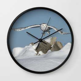 Over the hills Wall Clock