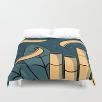 jungle Duvet Covers featuring Jungle by Animaux Circus