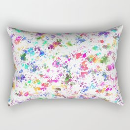 Expression of color Rectangular Pillow