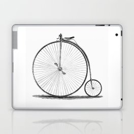 Penny-farthing. Laptop & iPad Skin
