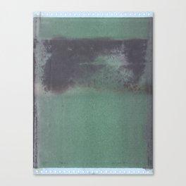 Green Verge Canvas Print