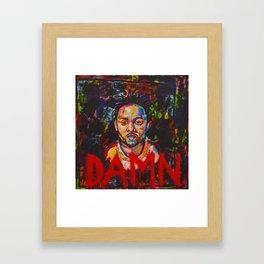 DAMN, Kendrick Lamar Framed Art Print