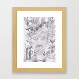 Drowned Framed Art Print