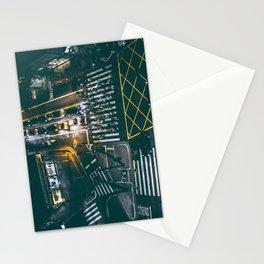 Night walking street 4 Stationery Cards